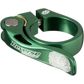 Reverse Long Life Sadelklemme 34,9mm, dark green